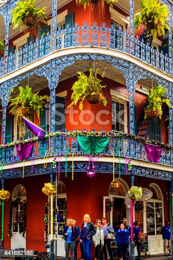 istock Party Time in New Orleans USA . 641682186