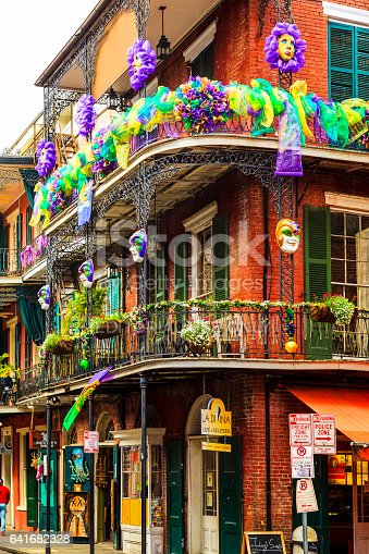 istock Party Time in New Orleans USA . 641682328