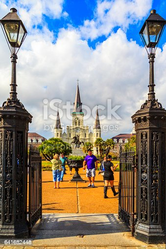 istock Party Time in New Orleans USA . 641682448