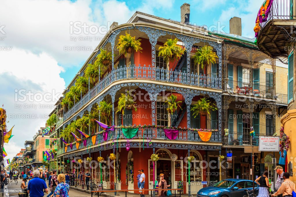 Party Time in New Orleans USA . royalty-free stock photo