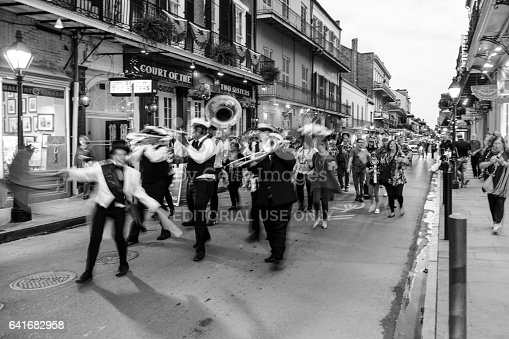 istock Party Time in New Orleans USA . 641682958