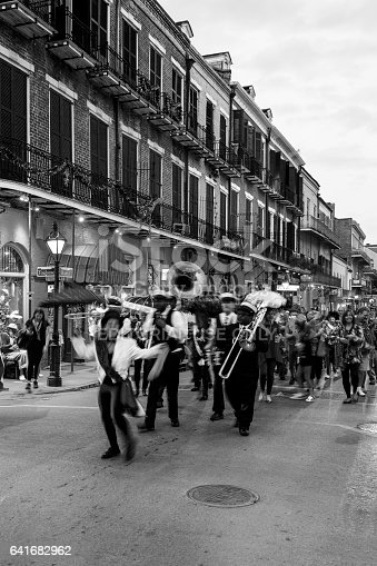 istock Party Time in New Orleans USA . 641682962