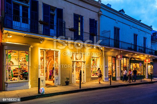 istock Party Time in New Orleans USA . 641683016