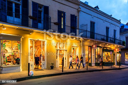 istock Party Time in New Orleans USA . 641683064