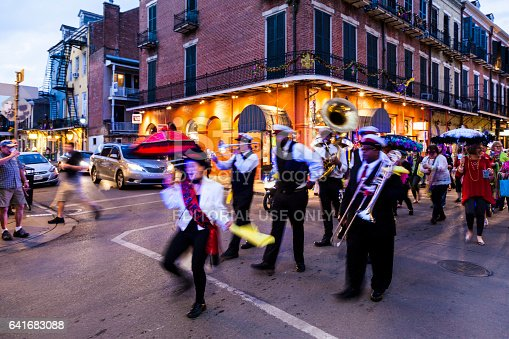 istock Party Time in New Orleans USA . 641683088