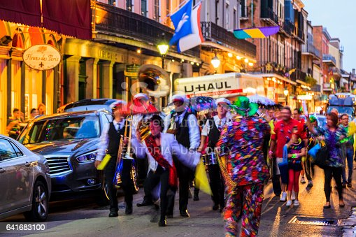 istock Party Time in New Orleans USA . 641683100