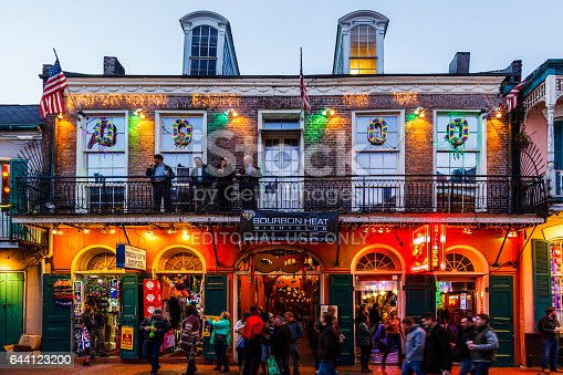 istock Party Time in New Orleans USA . 644123200