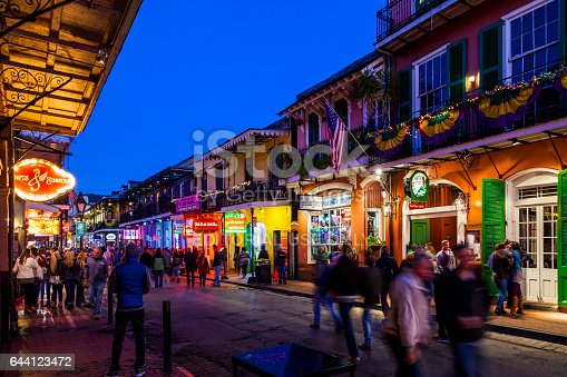 641682476 istock photo Party Time in New Orleans USA . 644123472