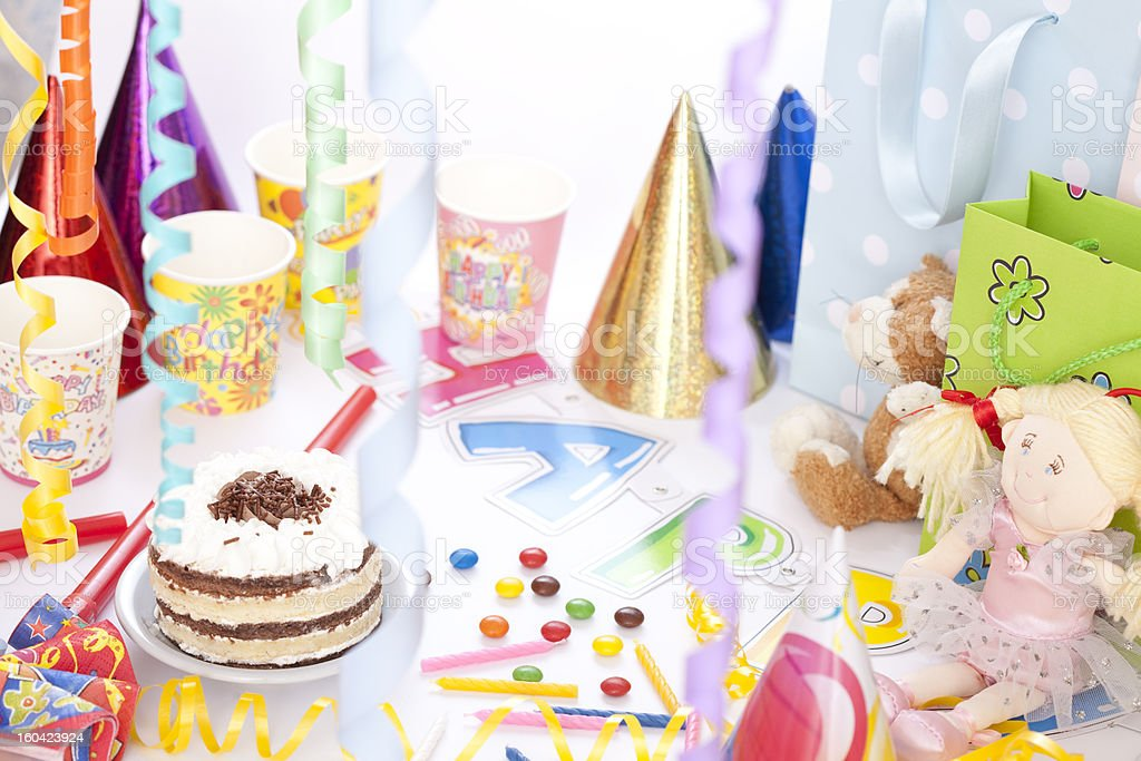 Party time royalty-free stock photo
