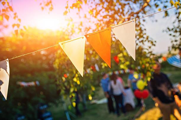 tempo de festa  - festa no jardim - fotografias e filmes do acervo