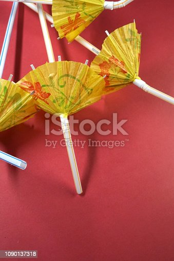 shot of party umbrella
