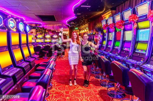 istock Partying in Casino 512177019