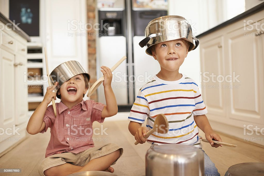Partying like rockstars!!! stock photo