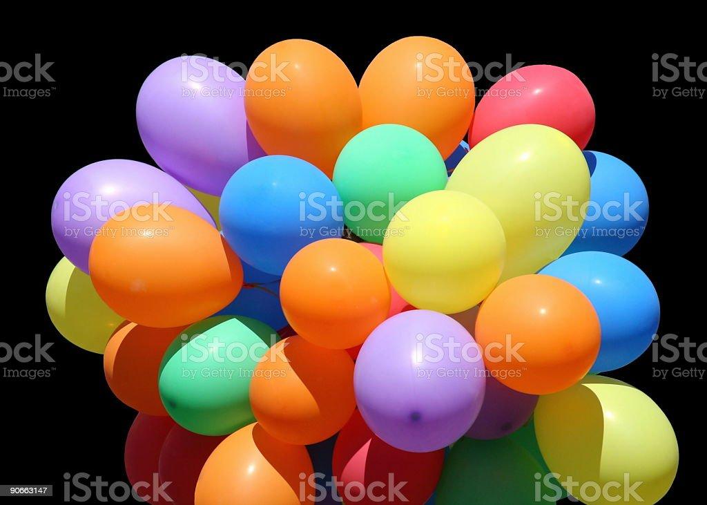 Partytime Balloons stock photo