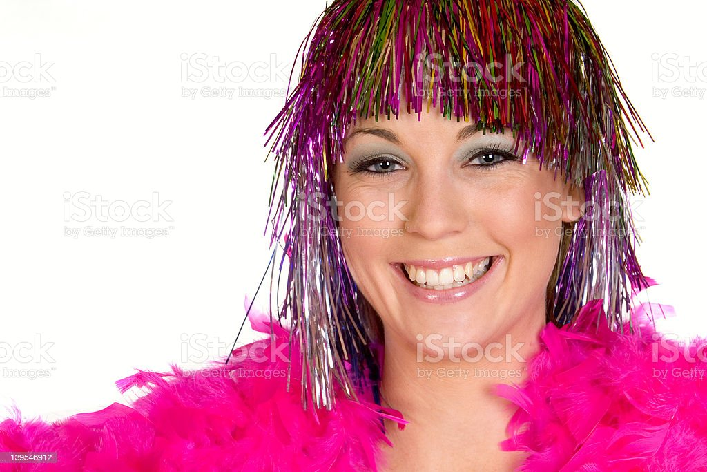Partytime Girl stock photo