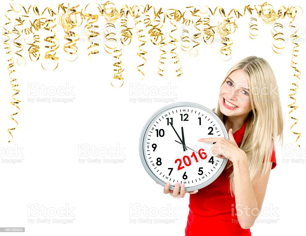 Partytime. Save the date. Five to twelve. stock photo