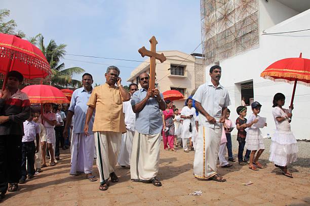 Parumala church stock photo