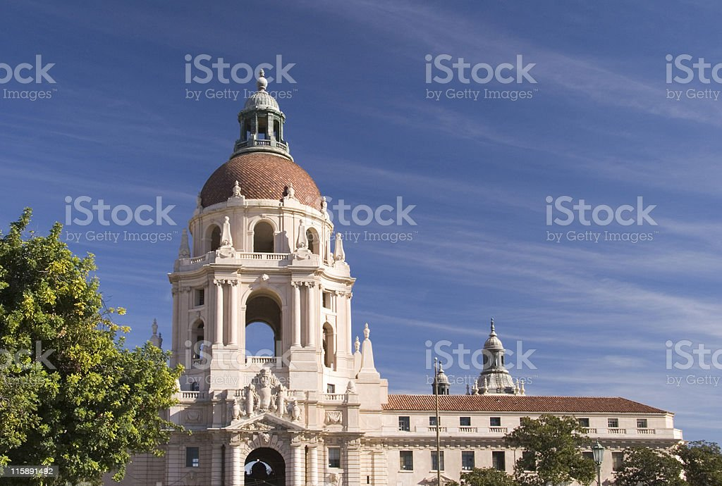 Pasadena City Hall royalty-free stock photo