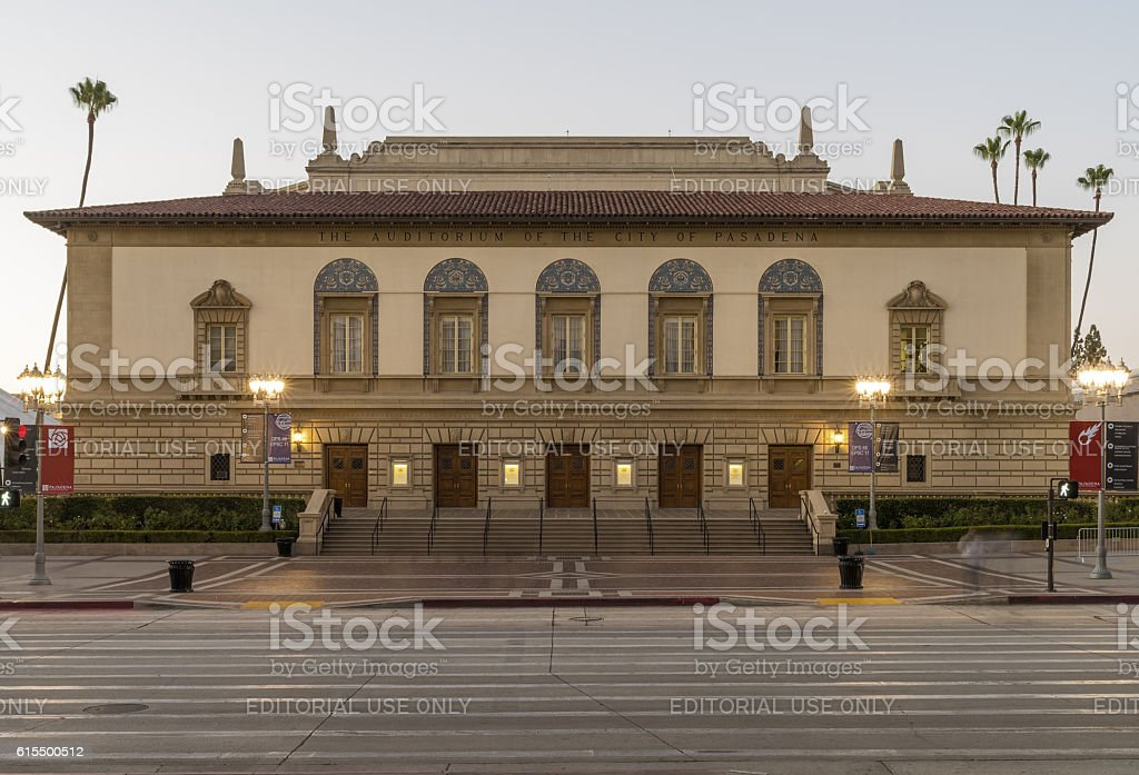 Pasadena Civic Center stock photo