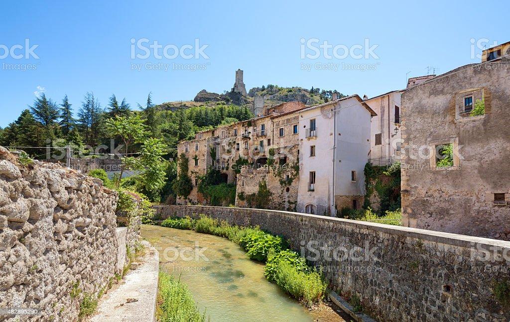 Pascina in the province of L'Aquila Abruzzi Italy stock photo