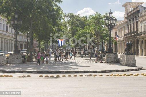 La Havana, Cuba – Paseo de el Prado, one of the most touristic places in La Havana