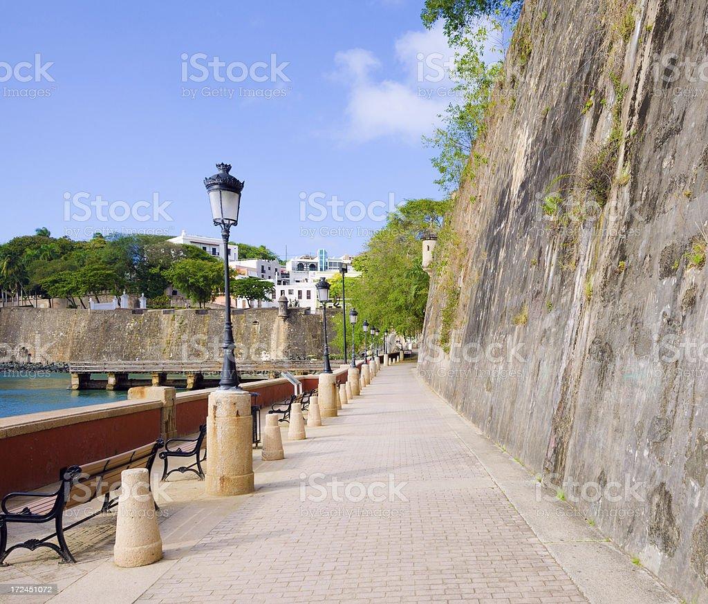 Paseo De La Princesa In Old San Juan Puerto Rico Stock Photo Download Image Now Istock