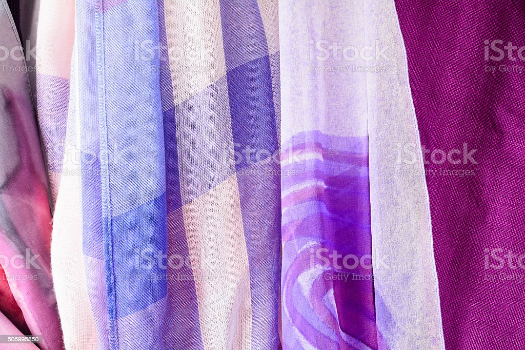 pashminas asnd scarf stock photo