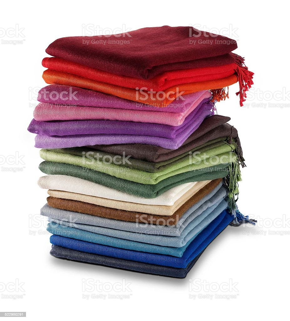 Pashminas stock photo