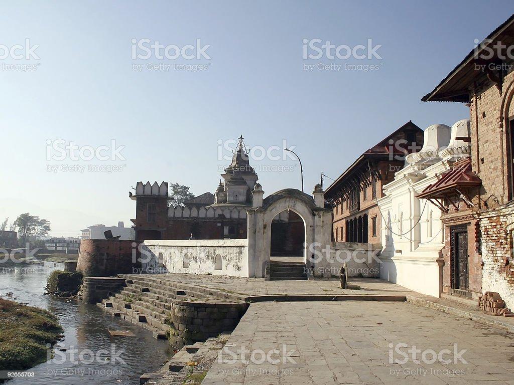 Pashupatinath, Nepal royalty-free stock photo