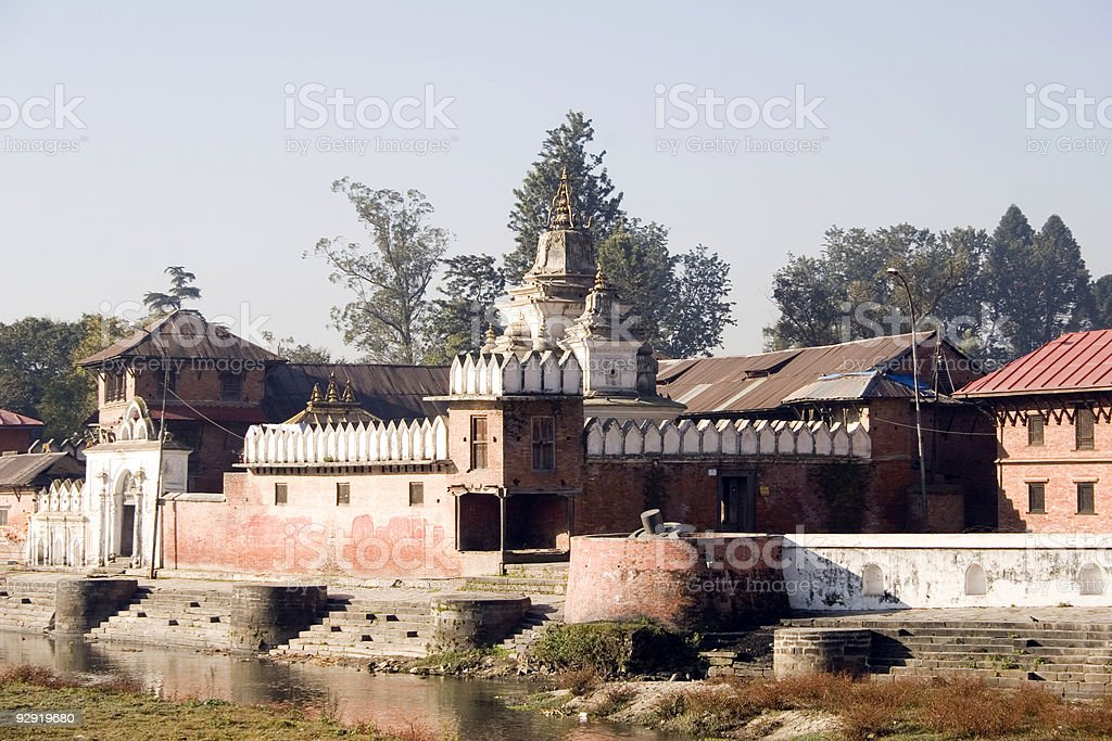 Pashupatinath, Nepal stock photo