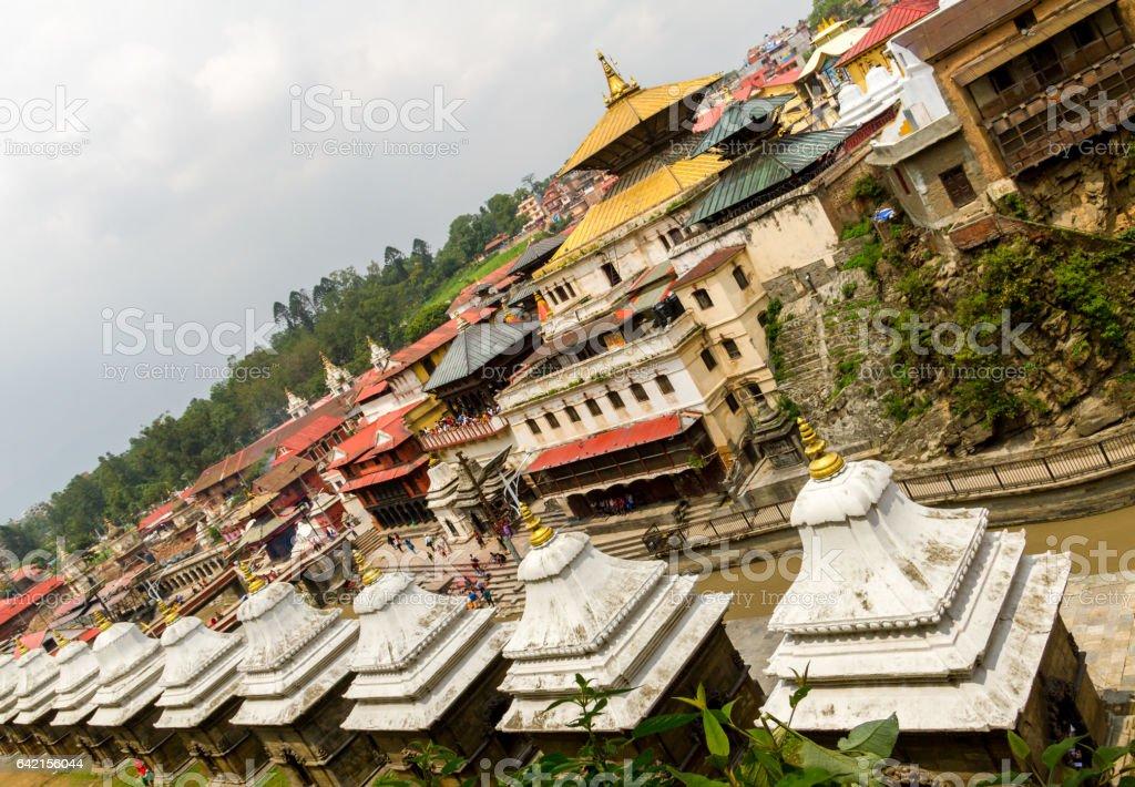 Pashupatinath Temple,Kathmandu,Nepal stock photo