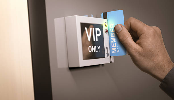 vip pass, exclusive access - disbarment stock pictures, royalty-free photos & images