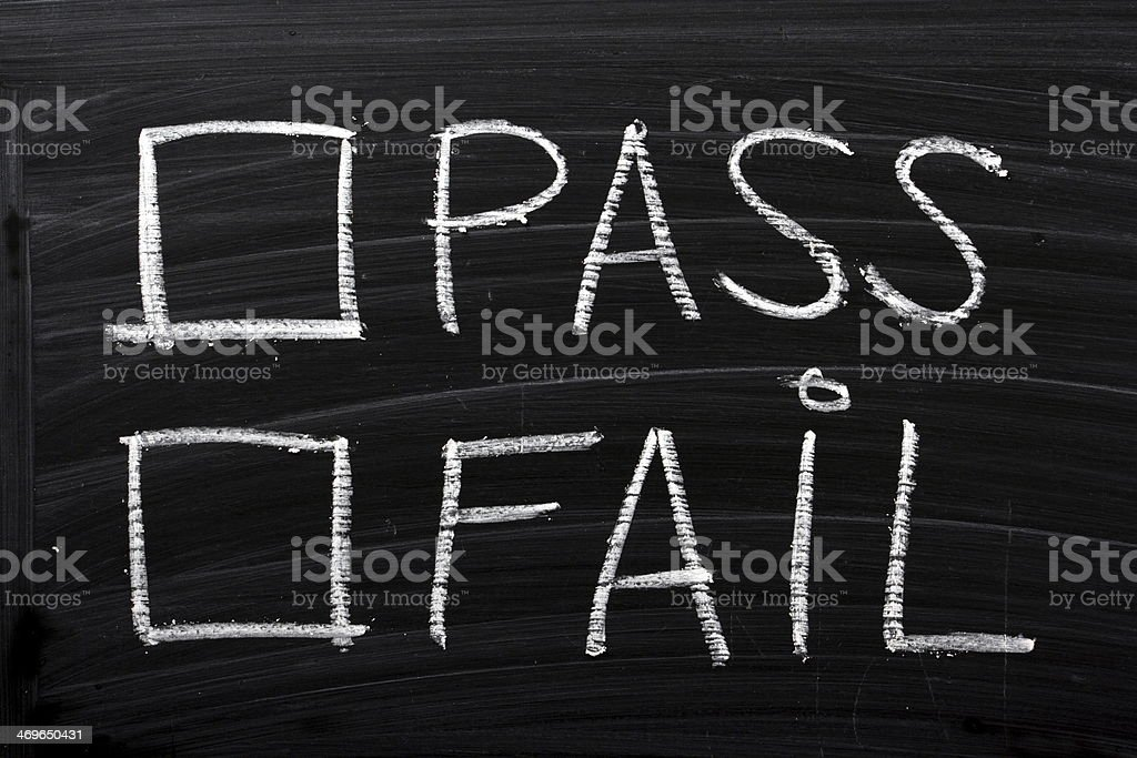 Pass or Fail - Photo
