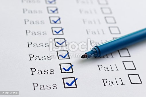 istock Pass or Fail 519122296