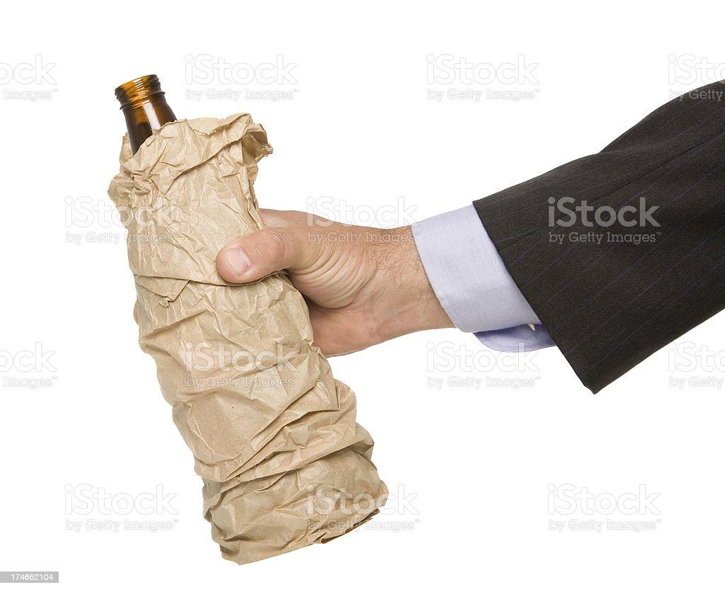 Pass die Flasche Lizenzfreies stock-foto