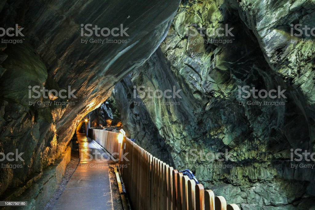 Durchgang in die Tamina George, Schweiz – Foto
