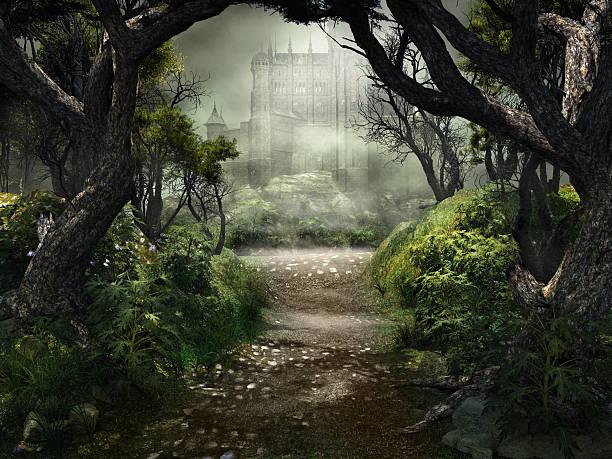 Passage to mystérieux château - Photo