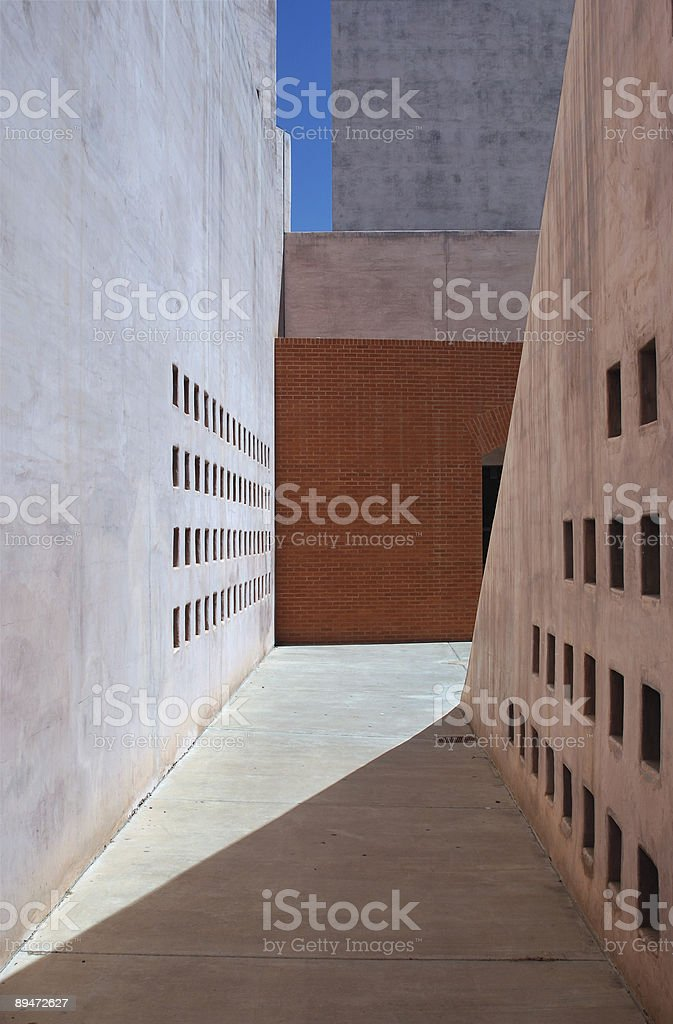 Passageway royalty-free stock photo