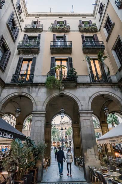 Passatge Madoz in Barcelona, Catalonia / Spain stock photo