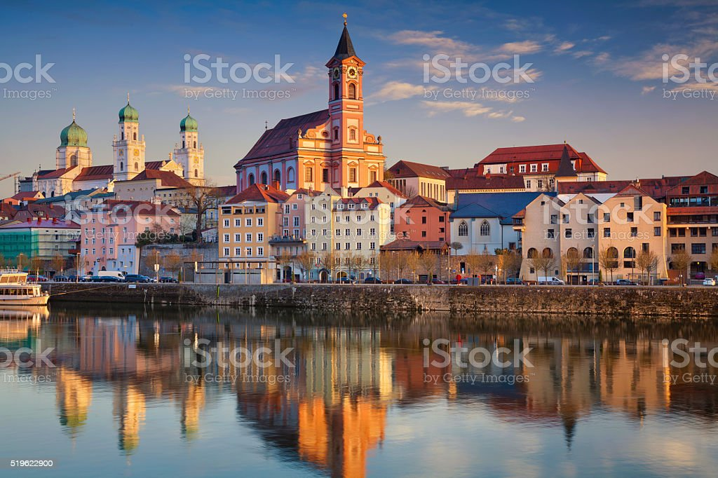 Passau. stock photo