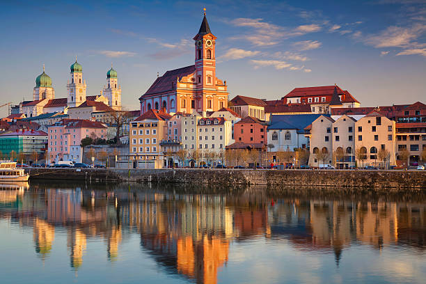 Passau. stock photo
