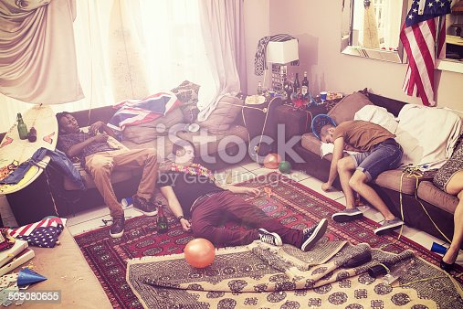 istock Passed out after the party 509080655
