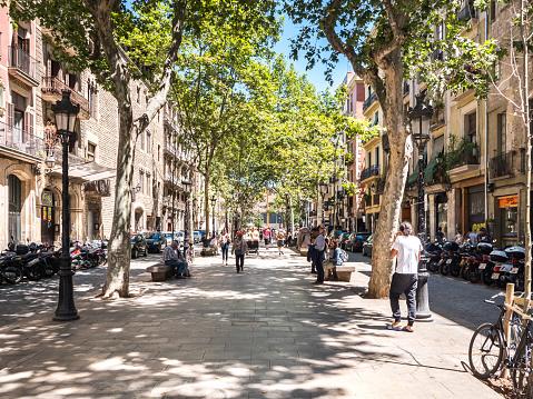 Passeig del Born street