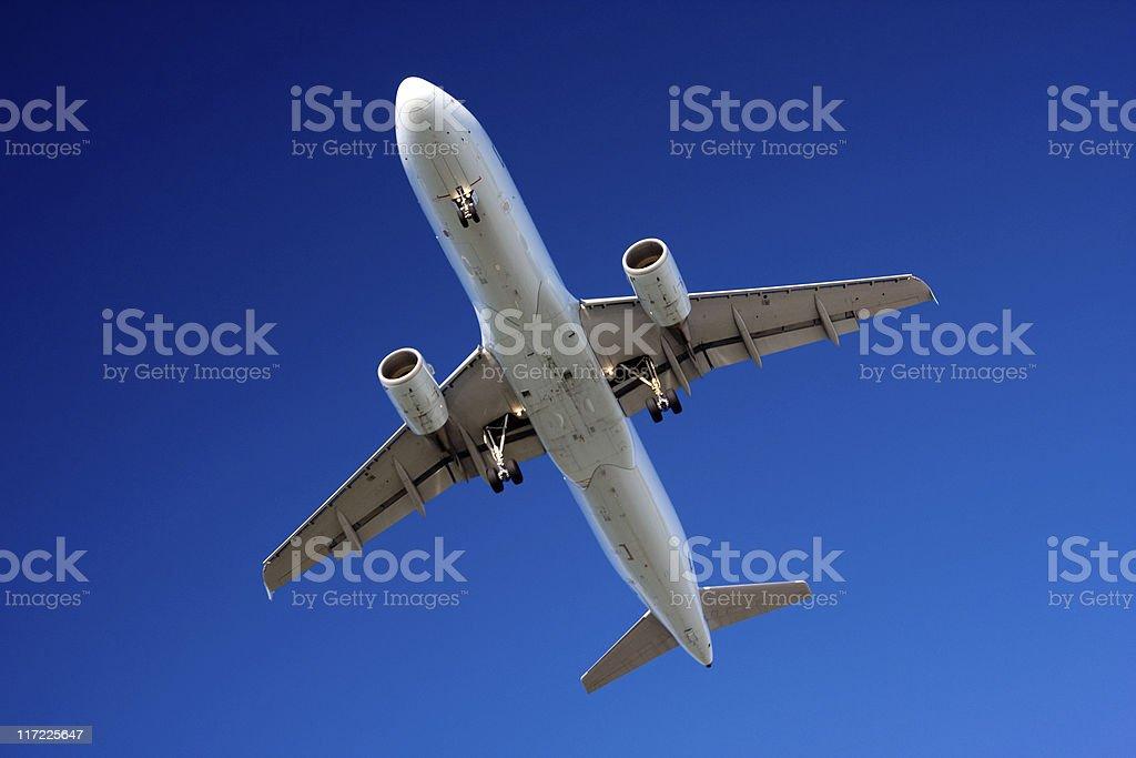 Passenger Aircraft royalty-free stock photo