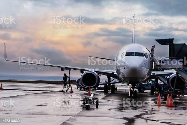 Flugzeug Passagier Sich Für Den Flug Stockfoto und mehr Bilder von 2015