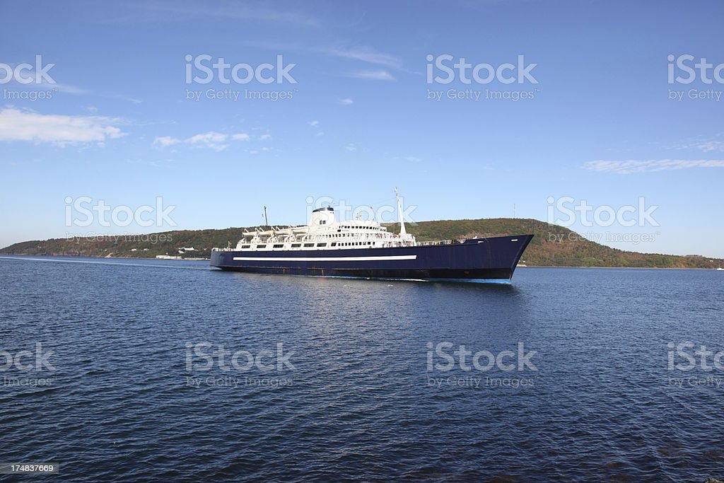 Passenger and Car Ferry stock photo