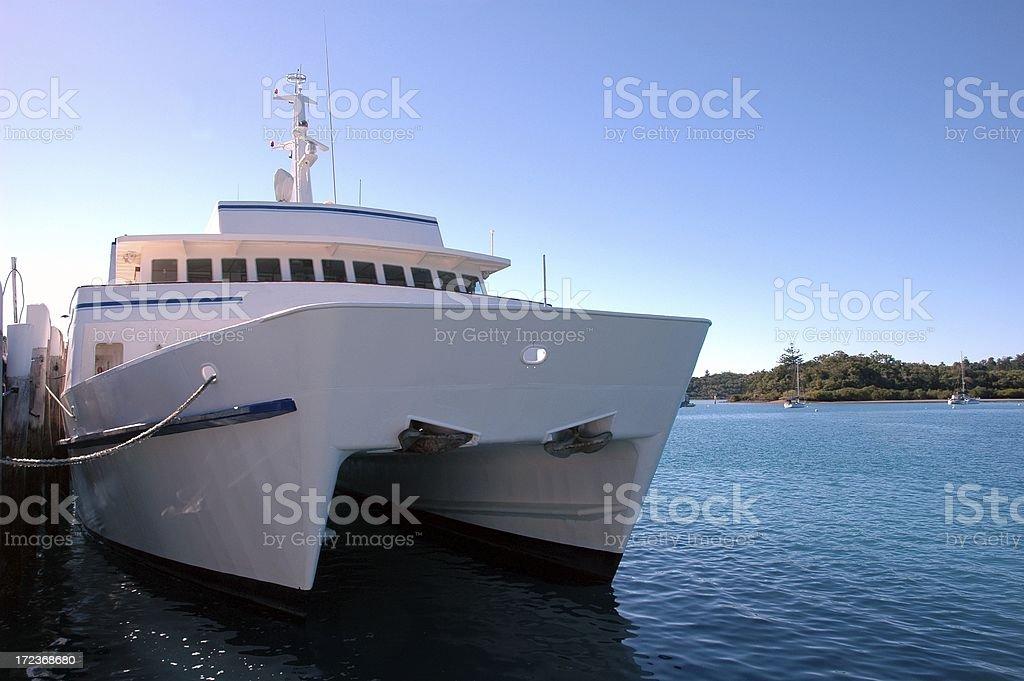 Passenger Boat royalty-free stock photo