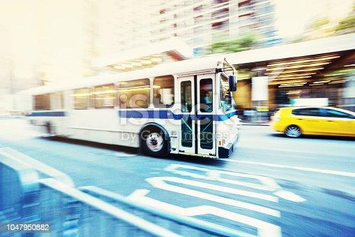 Passenger bus New York