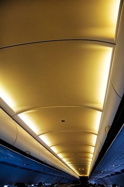 Passagier Kabine von Flugzeugen – Foto