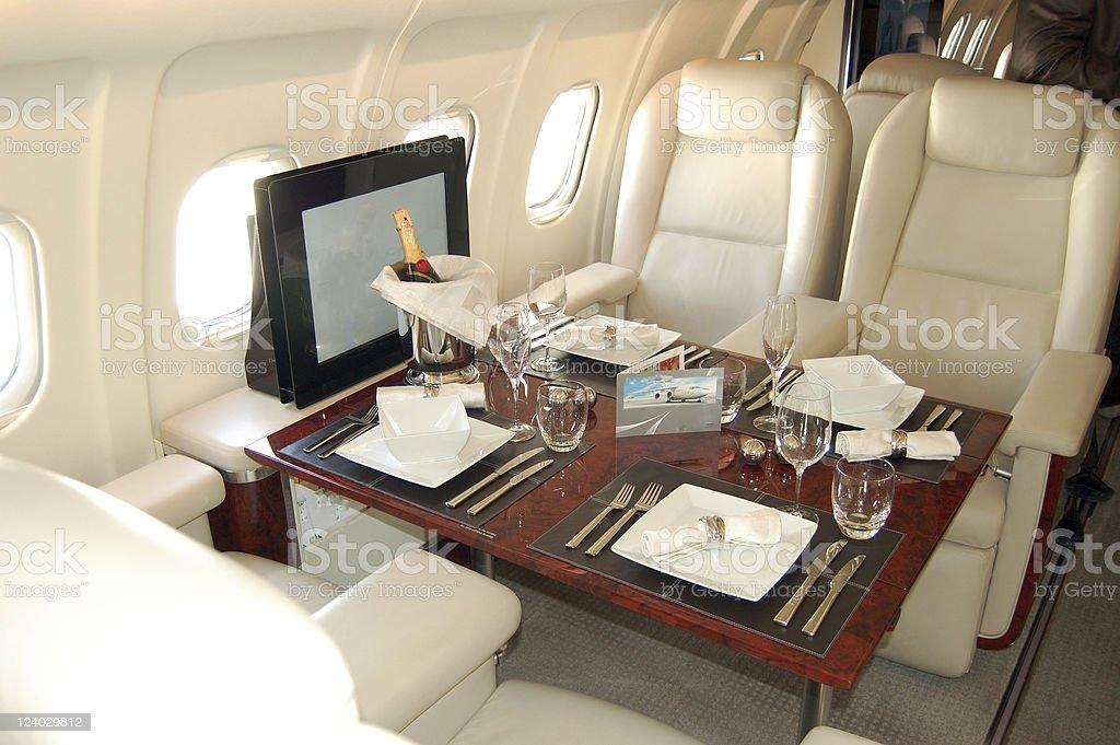 Passenger Cabin royalty-free stock photo